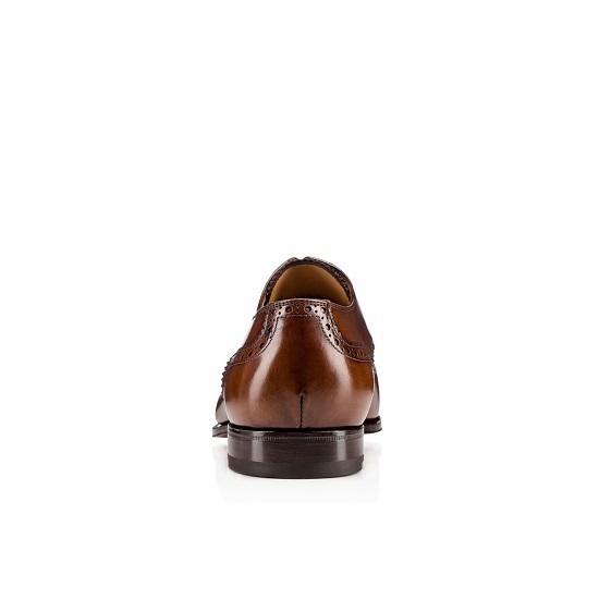 Sapato em couro masculino Christian Louboutin