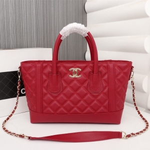 Bolsa couro vermelha Chanel ( Pronta Entrega )