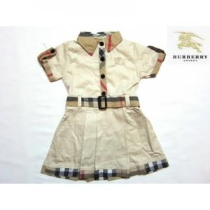 Burberry Vestido Infantil Burberry