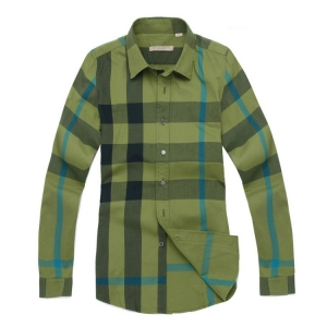 Camisa Fem. Verde Burberry