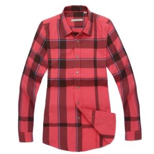 Camisa Fem. Vermelha Burberry