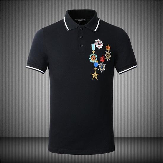 Camisa Polo Bordada Dolce&Gabbana