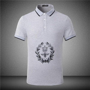 Camisa Polo Estampada Dolce&Gabbana