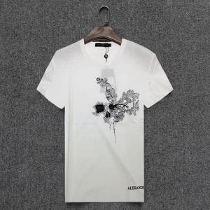 Camiseta com bordado Alexander MCQueen