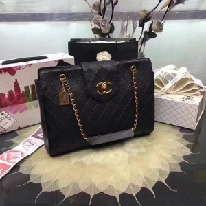 Chanel bolsa de couro Chanel