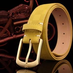 Cinto Amarelo Louis Vuitton