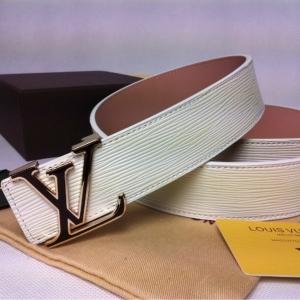 Cinto Branco Unissex Louis Vuitton