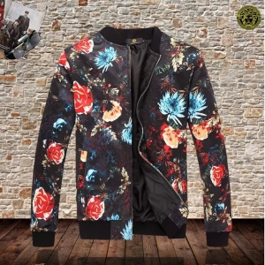 Jaqueta bomber com estampa Versace