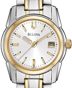Relógio Bulova Prata Rose Fem. - 98L143