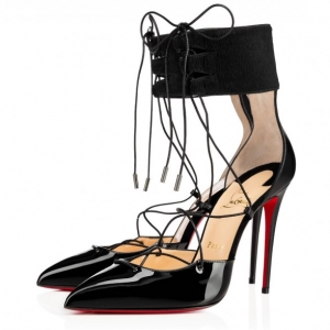 Sapato Christian Louboutin Corsankle 10cm.