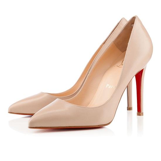 Sapato Christian Louboutin Pigalle Blush 10cm.