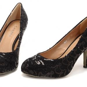 Sapato Couro Chanel