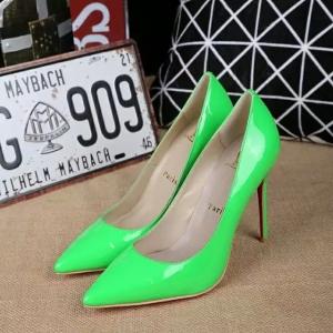 Sapato Salto Alto Verde Christian Louboutin 15cm.
