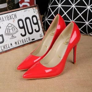 Sapato Salto Alto Vermelho Christian Louboutin 10cm.