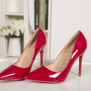 Sapato Salto Alto Vermelho Christian Louboutin 11cm.