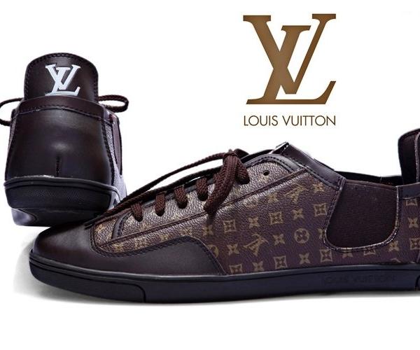 Tênis Couro Louis Vuitton (Pronta Entrega)