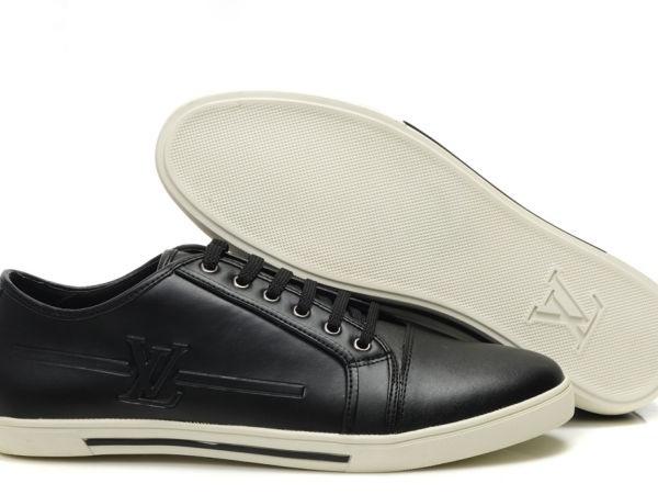 Tênis Couro Louis Vuitton