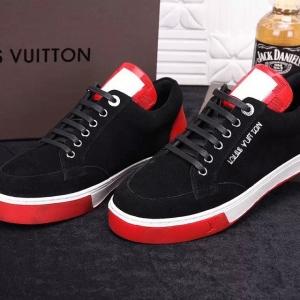 Tênis de Couro Louis Vuitton