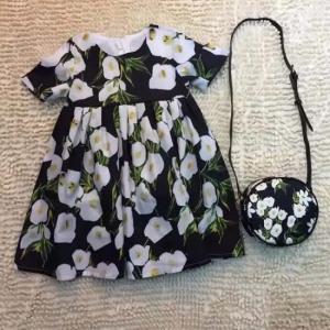 Vestido Infantil + Bolsa Dolce&Gabbana
