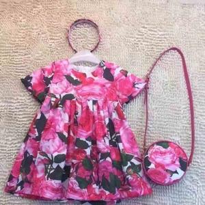 Vestido Infantil + Bolsa + Tiara Dolce&Gabbana