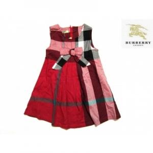 Vestido Infantil Burberry