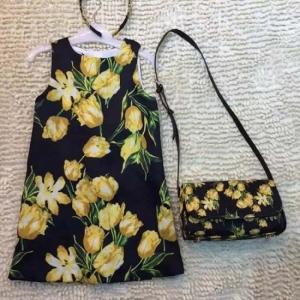 Vestido Infantil e Bolsa Dolce&Gabbana