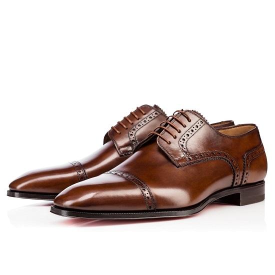 Sapato em couro masculino Christian Louboutin (Pronta Entrega)