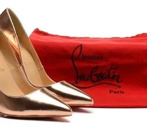 Sapato So kate Dourado Christian Louboutin 12cm.